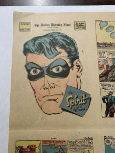 The Spirit Comic Book Section April 19 1942 - Februaury 14 1943 Complete 12 Iss