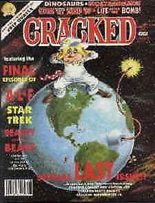 Cracked #246 VG; Globe | low grade comic - save on shipping - details inside