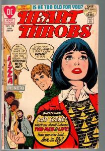 HEART THROBS #140 1972 DC-ROMANCE-FN--GHETTO-RACISM THEMED STORY FN-