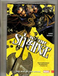 Dr. Strange Vol 1 Weird Marvel Comics HARDCOVER Graphic Novel Book SEALED J345