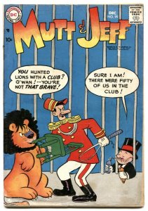 Mutt and Jeff #99 1957- Bud Fisher- DC Comics G-
