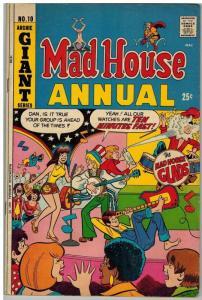 ARCHIES MADHOUSE (1959-1982)ANN 10 VG-F 1973 COMICS BOOK