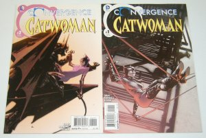 Convergence Catwoman #1-2 VF/NM complete series - justin gray - ron randall