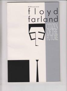 Floyd Farland: Citizen of the Future #1 VF- chris ware - huge scans - eclipse
