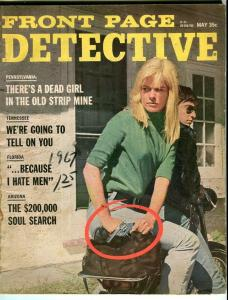 FRONT PAGE DETECTIVE-MAY/1967-GHOULS-MEN HATER-SOUL SEARCH G