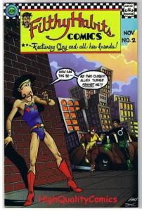 FILTHY HABITS #2, VF/NM, Aeon, Indy, Lobsters Away, 1996, more  indies in store