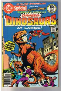 DC SPECIAL #27, VF+, Captain Comet, Dinosaurs at Large, more DC in store