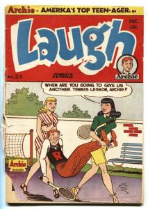 Laugh Comics #24 1947- Archie- Pipsy Jack Kirby Golden Age POOR