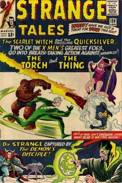 Strange Tales (1951 series) #128, VG- (Stock photo)