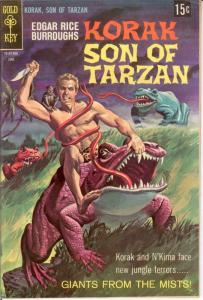 KORAK SON OF TARZAN 23 (15 CENT COVER) VG-F COMICS BOOK