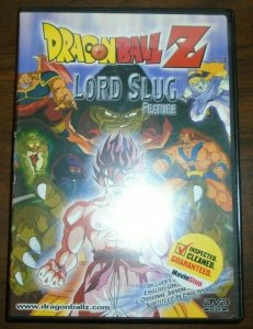 Lord Slug Feature Dragon Ball Z DVD English dubbed Uncut & Japanese subbed