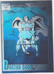 1991 Marvel Universe Hologram #H-4 Dr. Doom