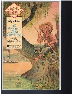 Classics Illustrated: #9 Tom Sawyer (First Comics, 1990)