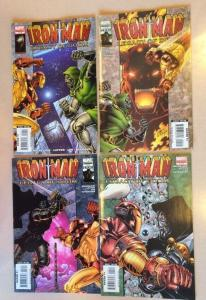 Iron Man Legacy Of Doom 1-4 Marvel Full Run Michelinie