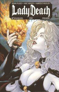 Lady Death Premiere #1A VF/NM; Boundless | save on shipping - details inside
