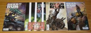 Dead Run #1-4 VF/NM complete series  A variants set   america is a wasteland 2 3