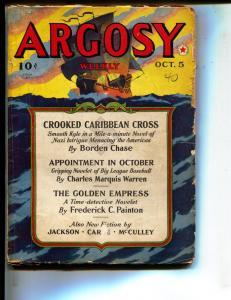 Argosy-Pulp-10/5/1940-Borden Chase-Eustace Cockrell