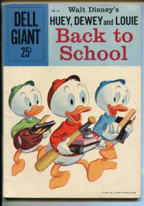 HUEY, DEWEY AND LOUIE #22-1959-DELL-DONALD DUCK-WALT DISNEY-vg/fn