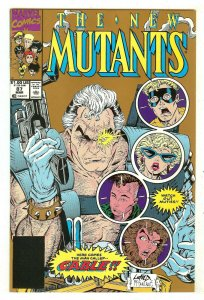 New Mutants 87   1st full Cable   2nd Print