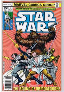 STAR WARS #14, VF+, Luke Skywalker, Darth Vader, 1977, more SW in store