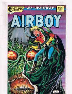 Airboy #18 VF/NM Eclipse Comics Comic Book Dixon 1986 DE25
