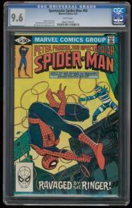 SPECTACULAR SPIDER-MAN #58 CGC GRADED 9.6 MARVEL- -0802159001