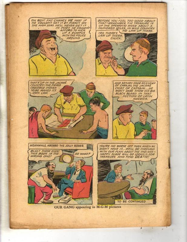 4 Coverless Golden Age Comics Tom & Jerry Red Ryder Police