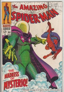 Amazing Spider-Man #66 (Nov-68) VF- High-Grade Spider-Man