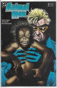 Animal Man (vol. 1, 1988) #17 VG Morrison/Truog, Bolland cover