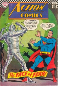 Action Comics #349 (ungraded) stock photo / ID#00E