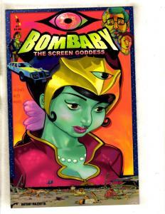 Lot Of 3 Bombaby Comic Books # 1 2 3 1st Print SLG Publishing Ant Mazzotta J339
