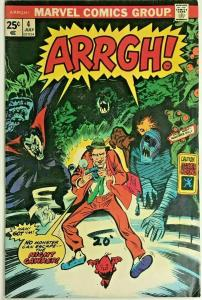 ARRGH!#4 FN/VF 1975 MARVEL BRONZE AGE COMICS