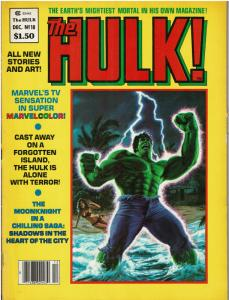 The Rampaging Hulk (1977 Magazine) #18 - FAIR or Better