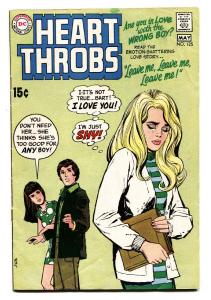 Heart Throbs #125 comic 1970-DC-comic book Romance