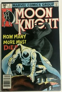 MOON KNIGHT#2 VF 1980 MARVEL BRONZE AGE COMICS