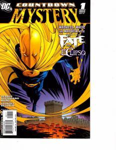 Lot Of 2 DC Comics Countdown to Mystery #1 and #3 Wonder Women  Batman   JB4