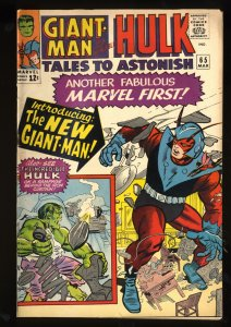 Tales To Astonish #65 FN- 5.5