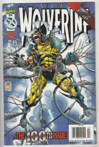 Wolverine #100 (Apr-96) VF/NM High-Grade Wolverine