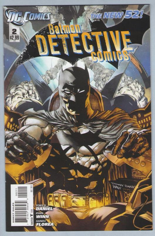 Detective Comics 2 Dec 2011 NM- (9.2) - New 52