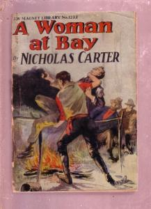 NEW MAGNET LIBRARY-#1222-WOMAN AT BAY-NICK CARTER FR