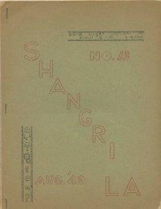 SHANGRI-LA #13 (LASFS Fanzine, August 1949) Rare Zine! Kaiser collection!