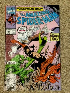 Amazing Spider-Man #342 Black Cat Powerless Scorpion VF+ 1990 Marvel