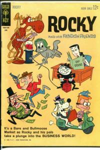 Rocky and His Fiendish Friends #4 1963-Gold Key-Dudley-Do-Right-VG/FN