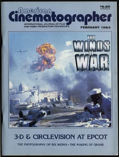 WINDS OF WAR AMERICAN CINEMATOGRAPHER 1983