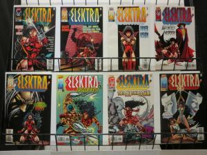 ELEKTRA (1996) 1(BLACK),2-8  DEODATO