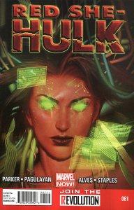 RED SHE-HULK  (2012 Series) #61 Near Mint Comics Book