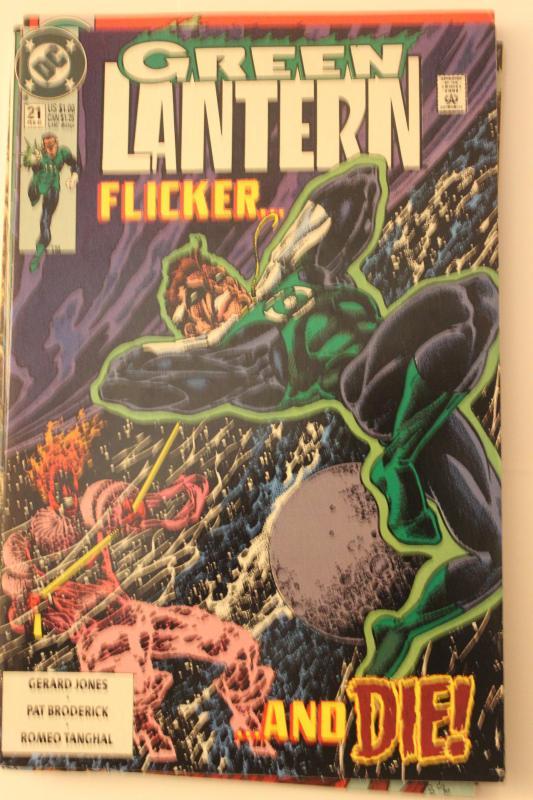 Green Lantern 21 NM