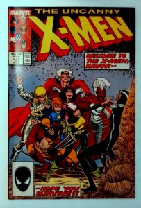 X-Men #219 Marvel 1987 VF+ Copper Age Key Issue Havok Joins The X-Men Comic Book
