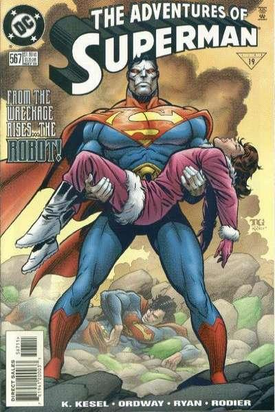 Adventures of Superman (1987 series) #567, NM (Stock photo)