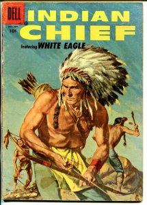 Indian Chief  #23 1956-Dell-Indian stories-White Eagle-VG-